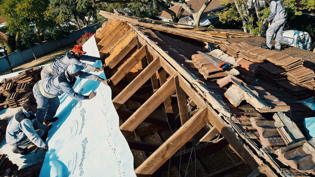 arched roof repairs