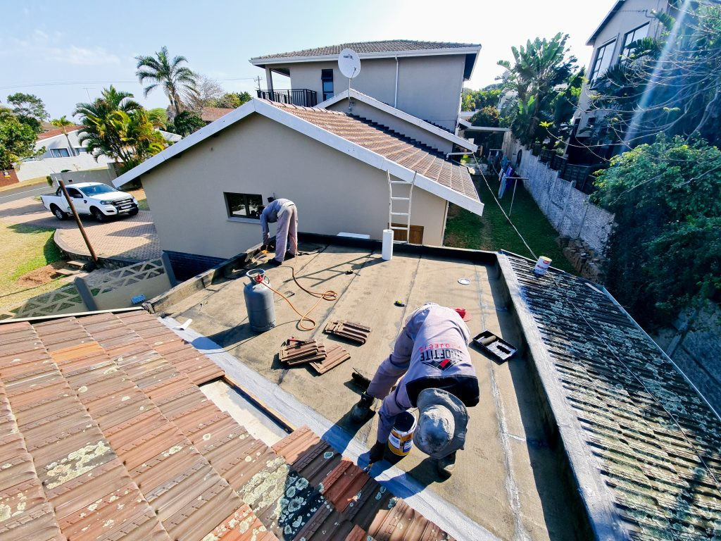 House roof repair contractor in Durban