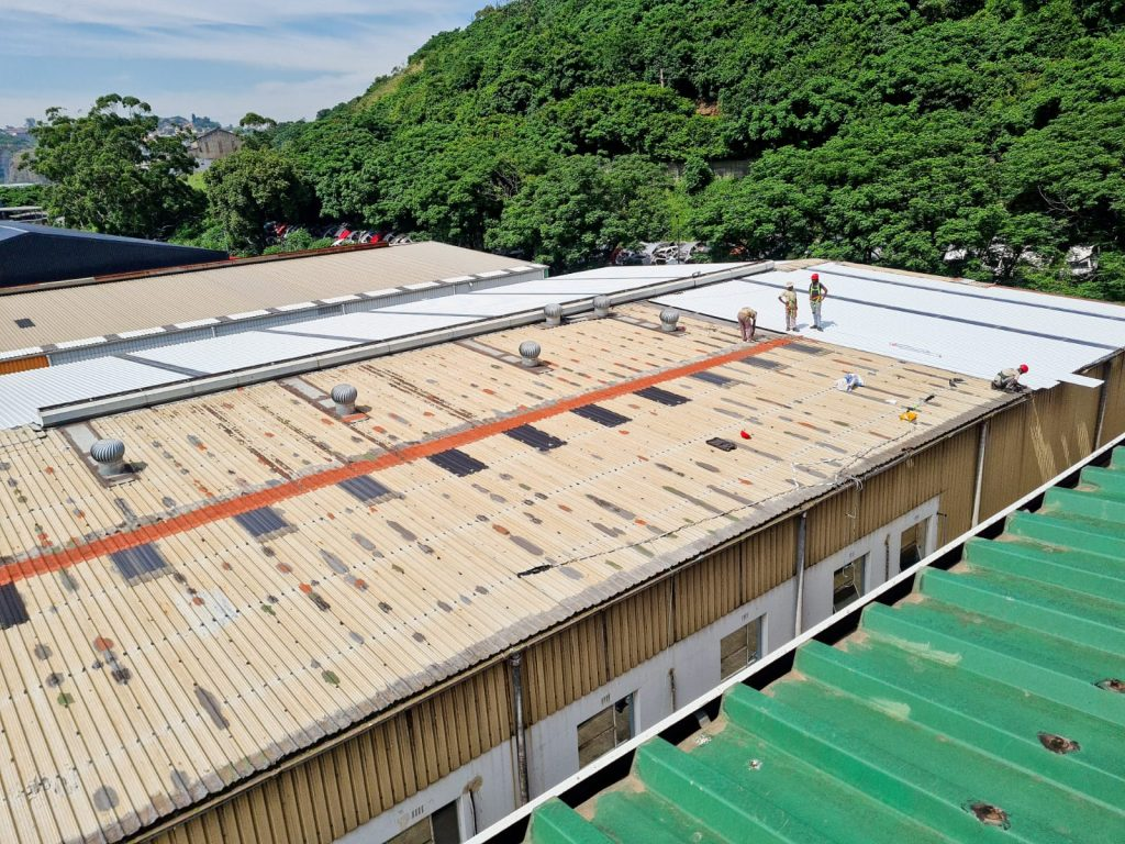 Roof underlay repairs in Durban