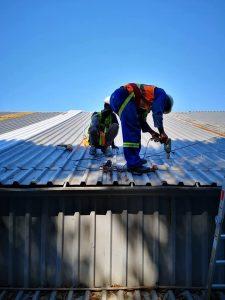 Roof repairs in Durban